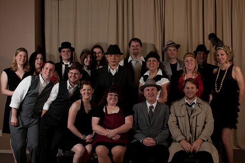 Everyone at the Speakeasy Scandal, 2009